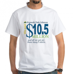 $10.5 Million Fraud t shirt