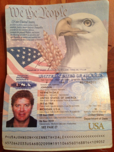 Johnson passport