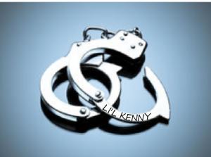 Li'l Kenny's handcuffs