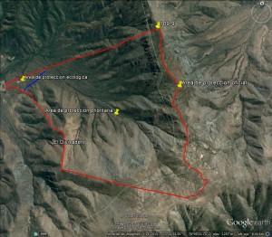 Fundo El Penon areas de proteccion